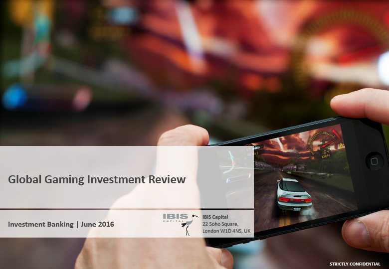Gaming Investment Report